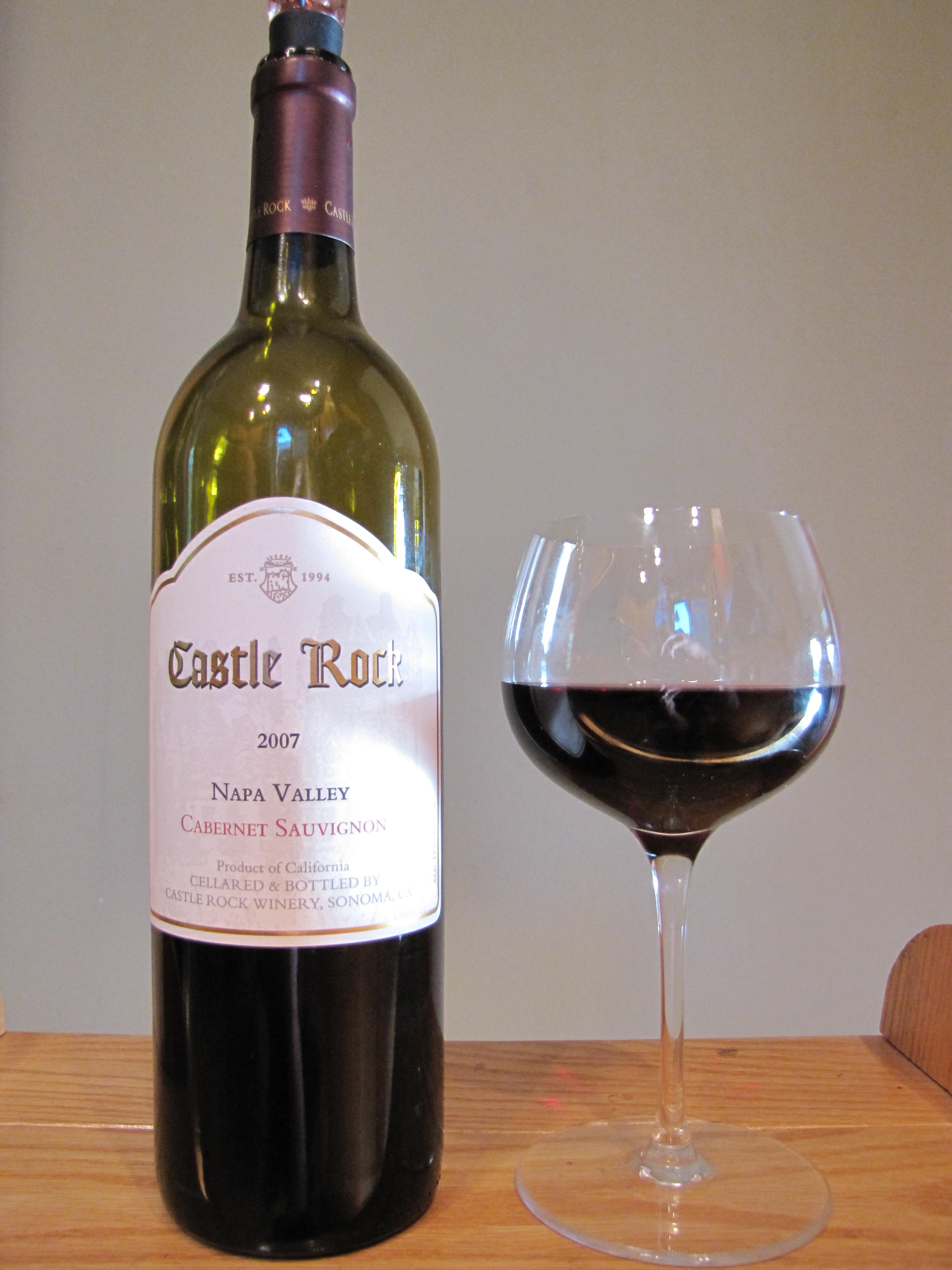 Castle Rock Cabernet Sauvignon (2007)