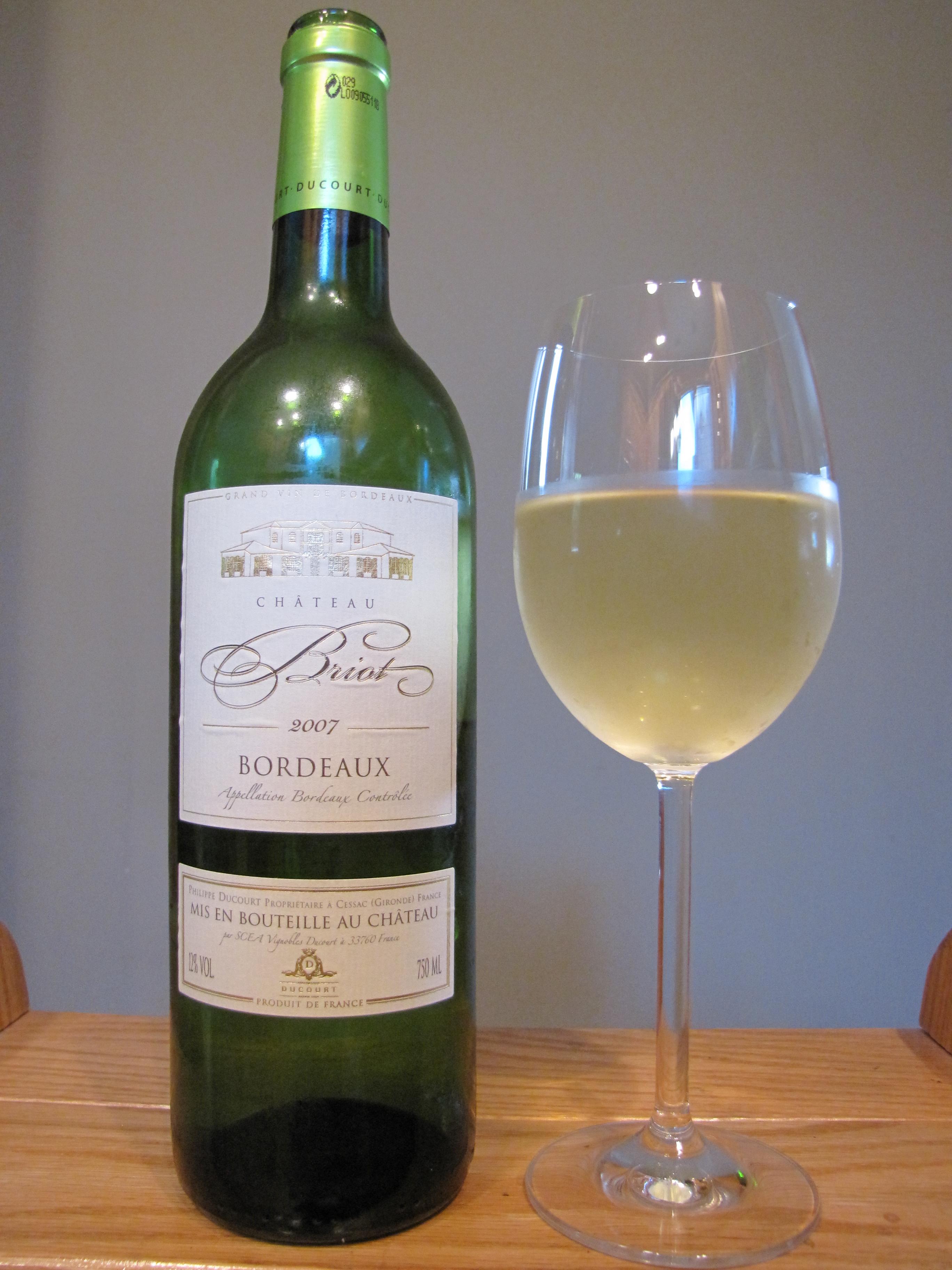 Château Briot White Bordeaux