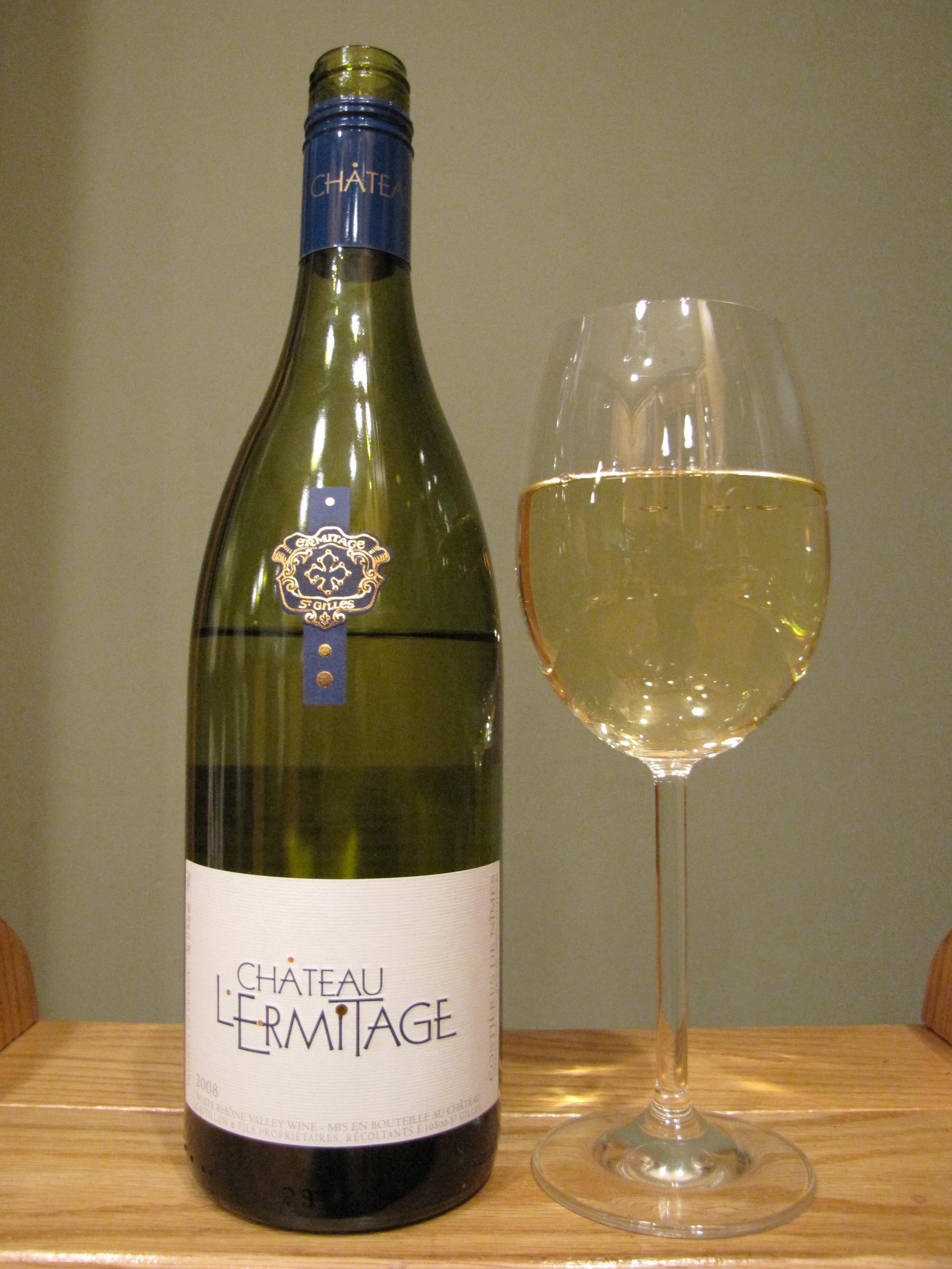Chateau l'Ermitage Cuvée Tradition Blanc (2008)