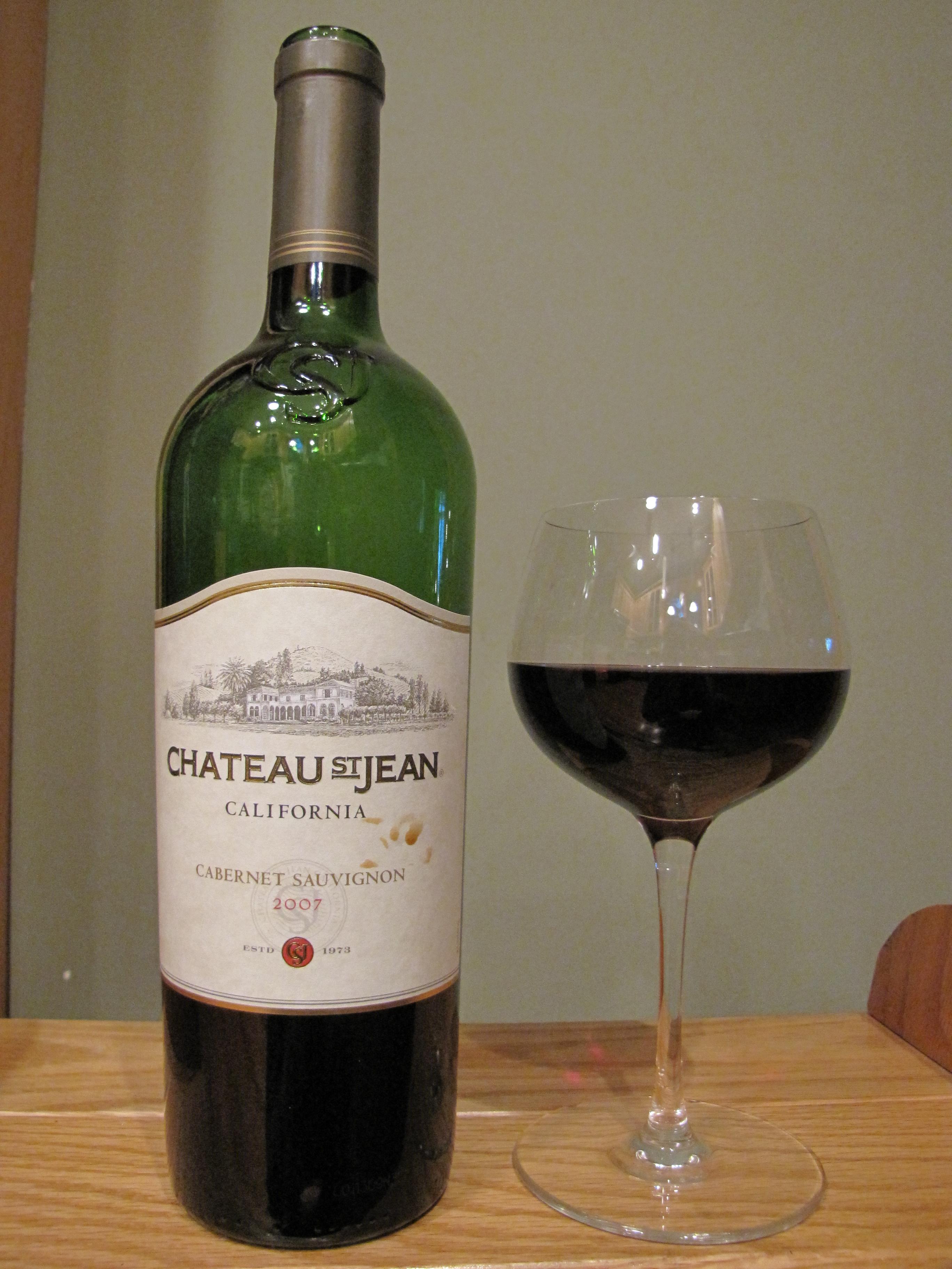 Chateau St. Jean Cabernet Sauvignon (2007)