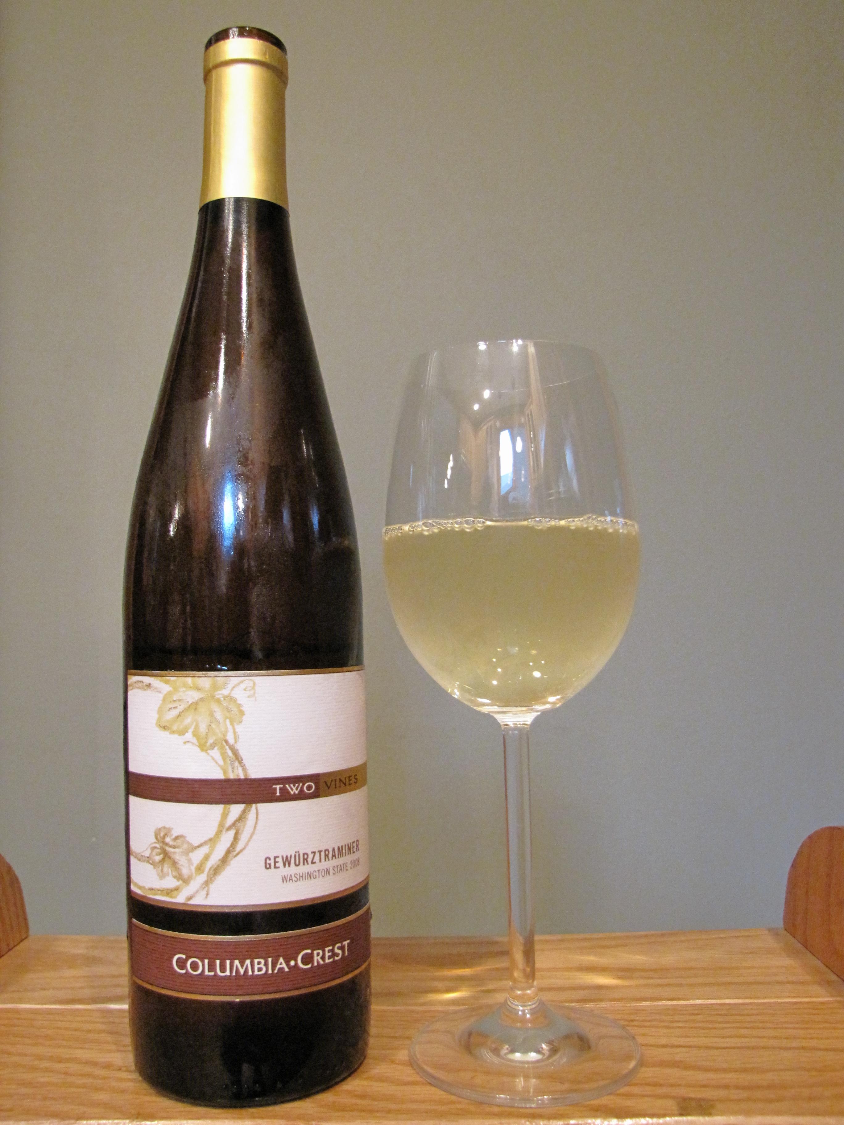 Columbia Crest Gewürztraminer Two Vines