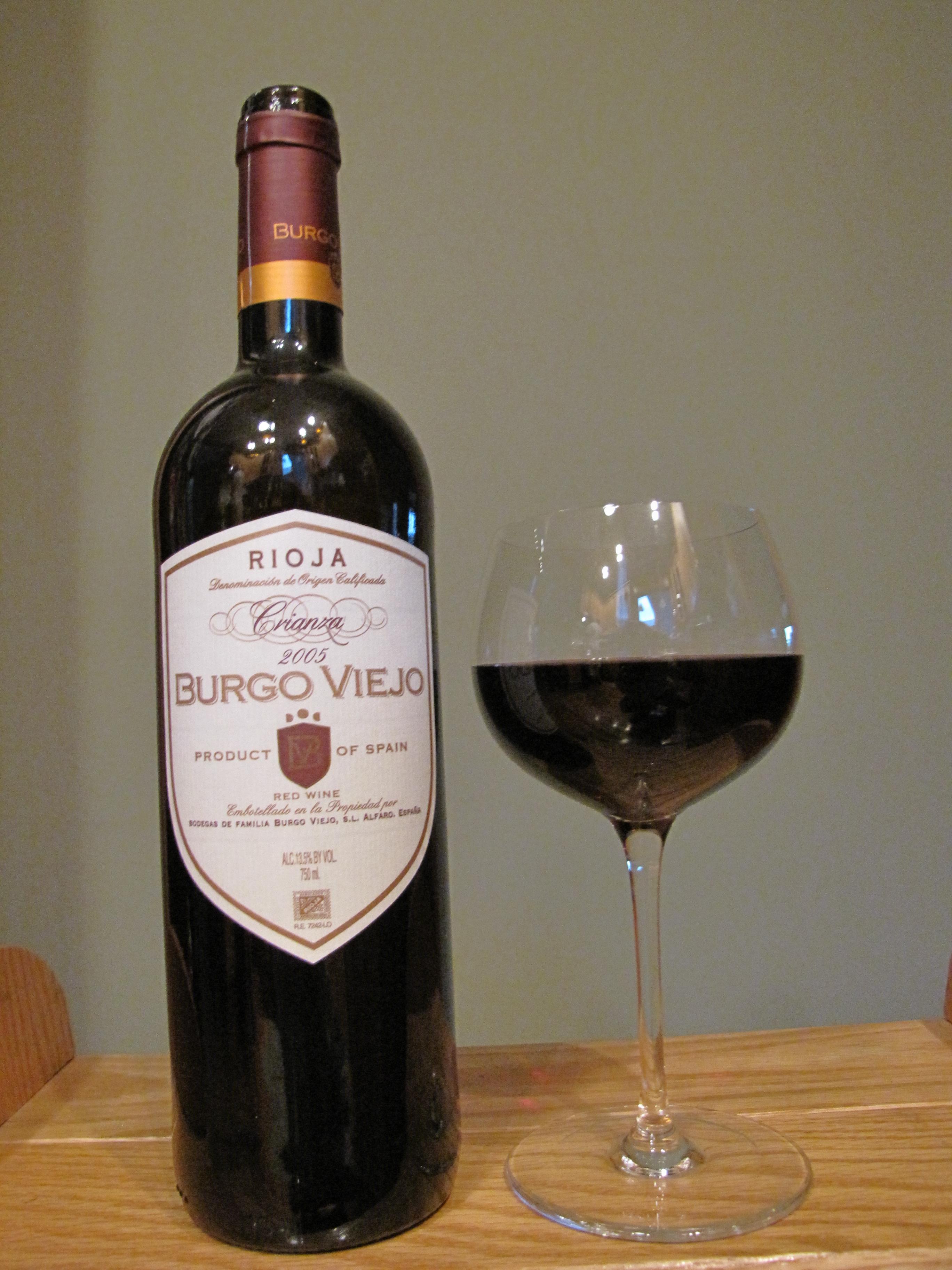 Burgo Viejo Rioja Crianza (2005)