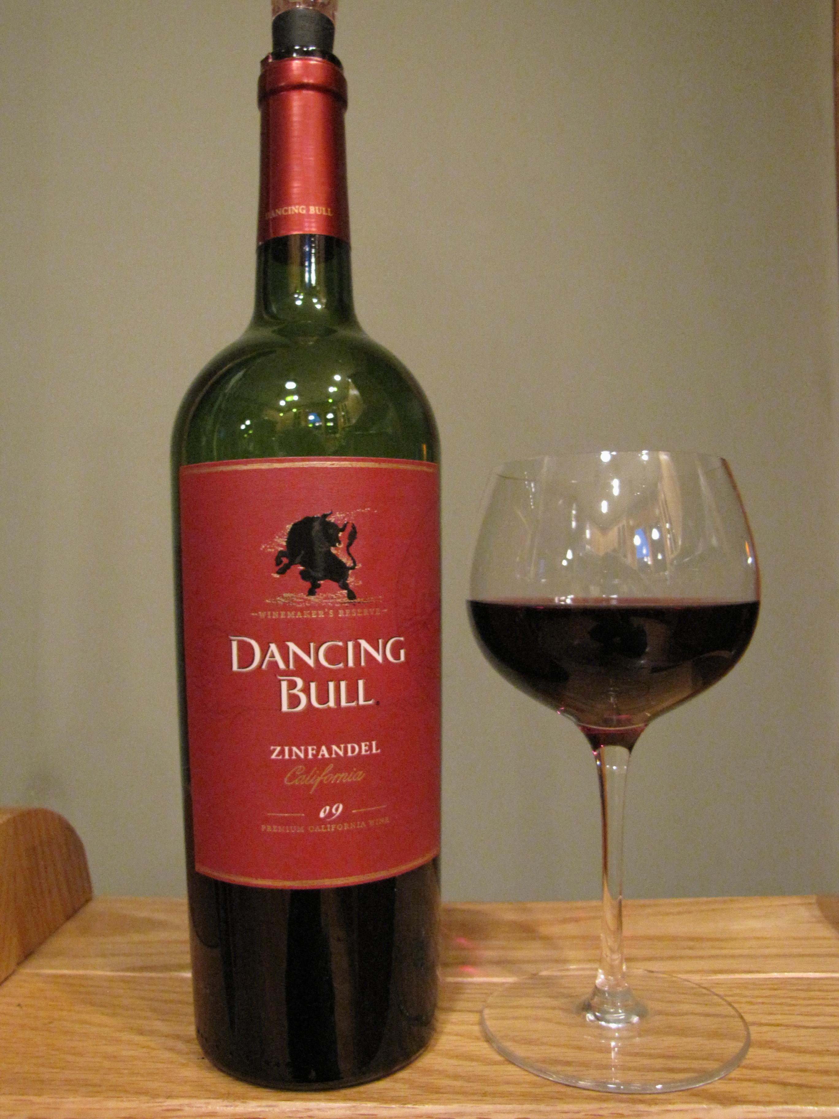 Dancing Bull Zinfandel (2009)