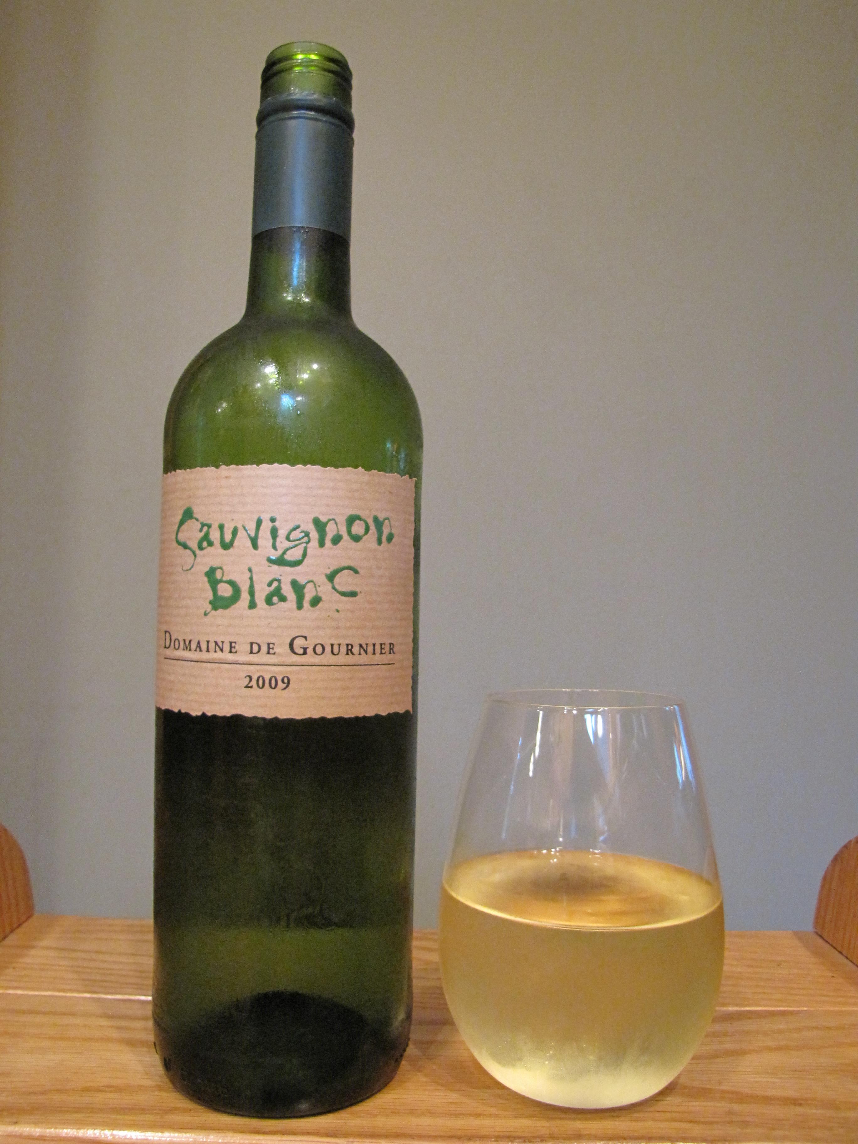 Domaine de Gournier Sauvignon Blanc Vin de Pays des Cévennes (2009)