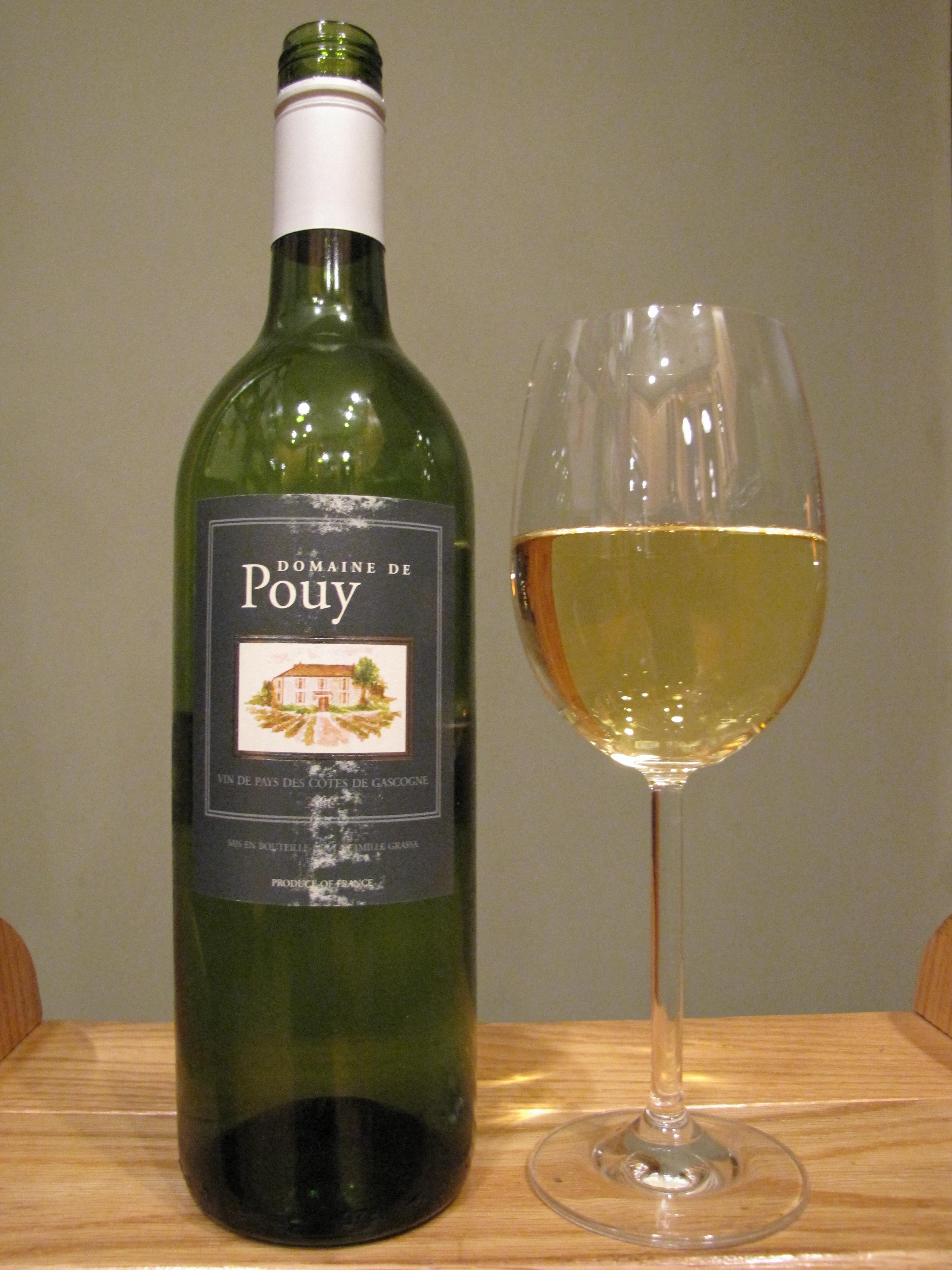 Domaine de Pouy Vin de Pays des Côtes de Gascogne (2006)