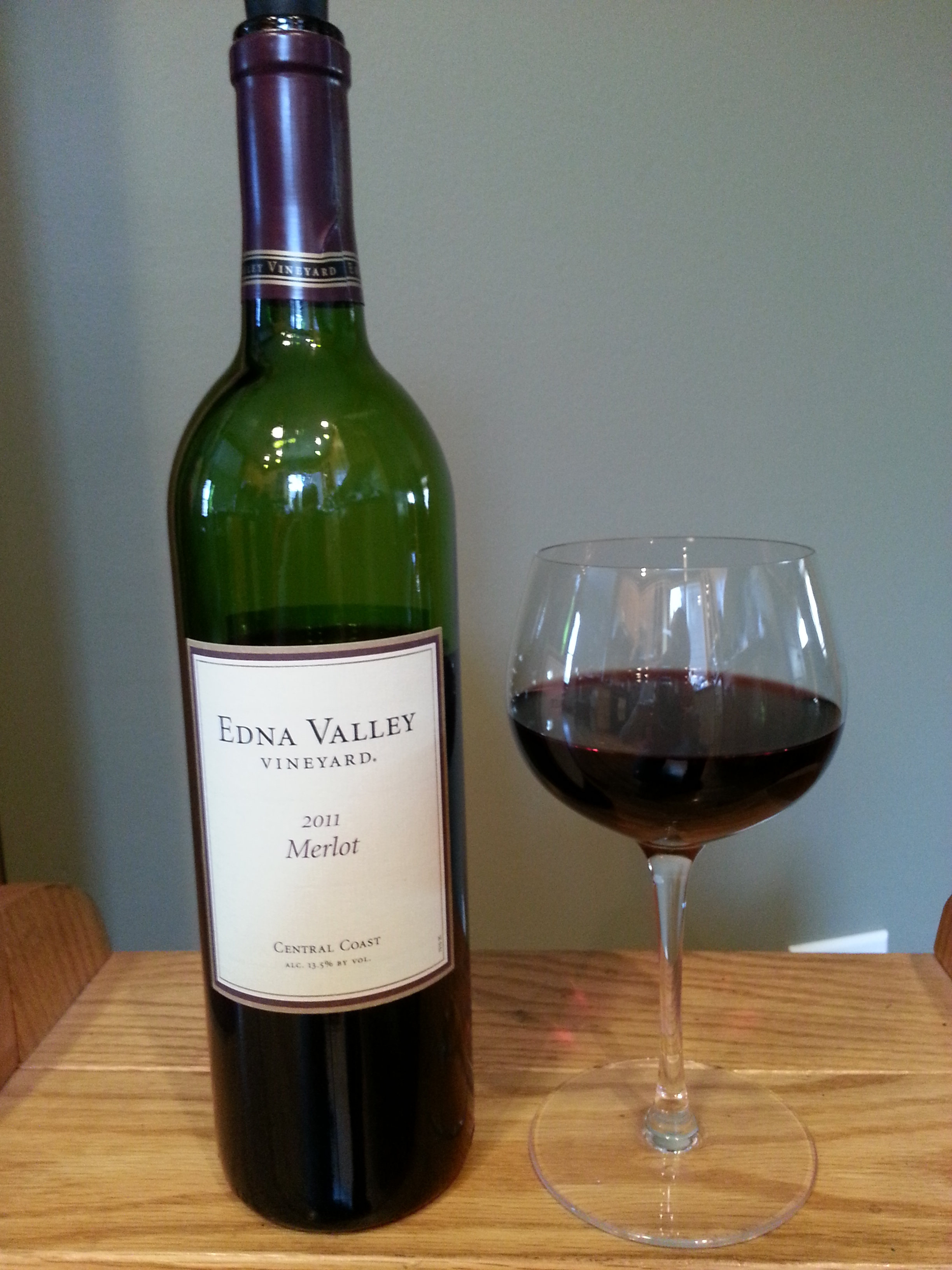 Edna Valley Vineyard Merlot (2011)