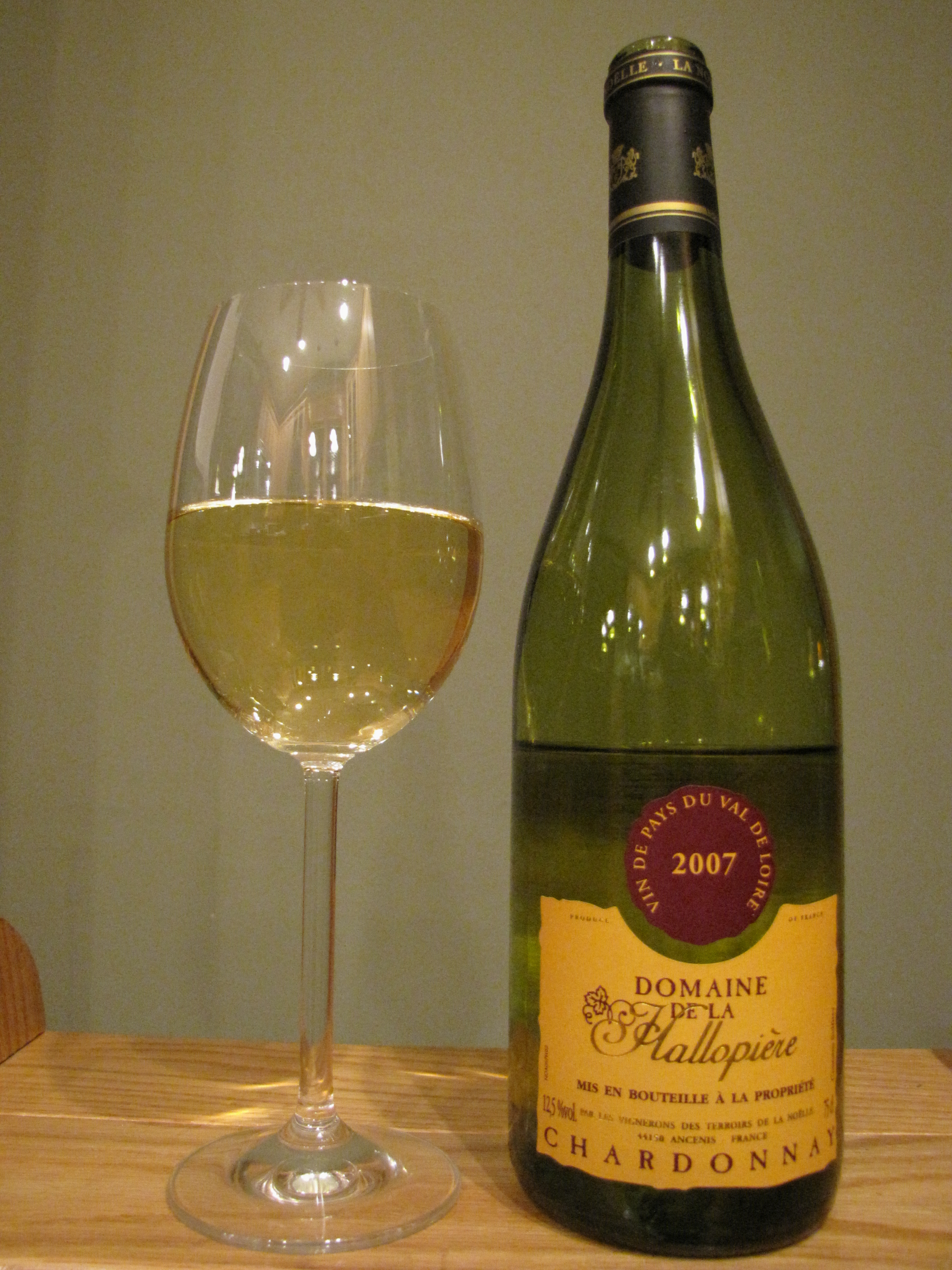 Hallopière Chardonnay (2007)