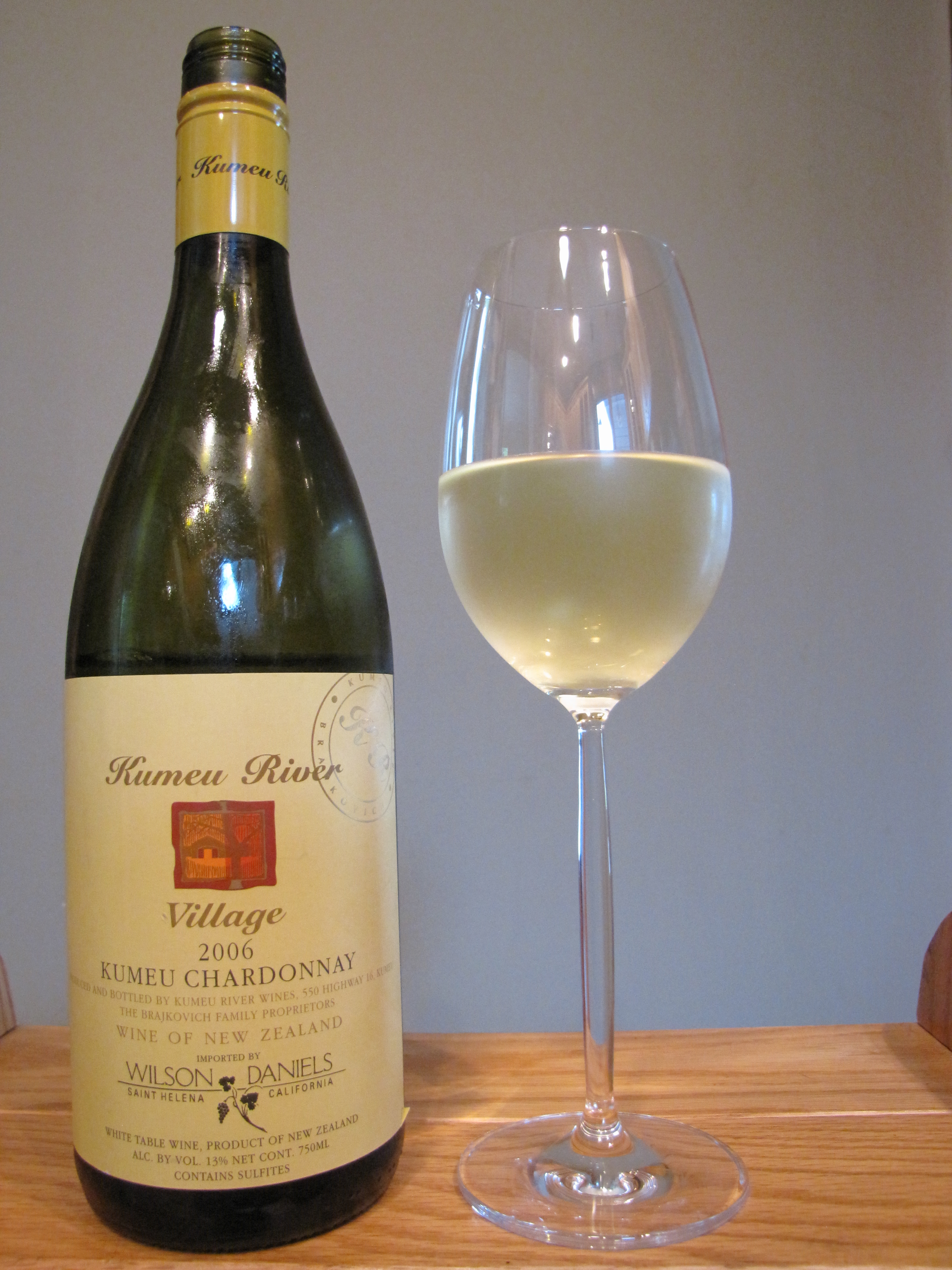 Kumeu River Village Chardonnay (2006)