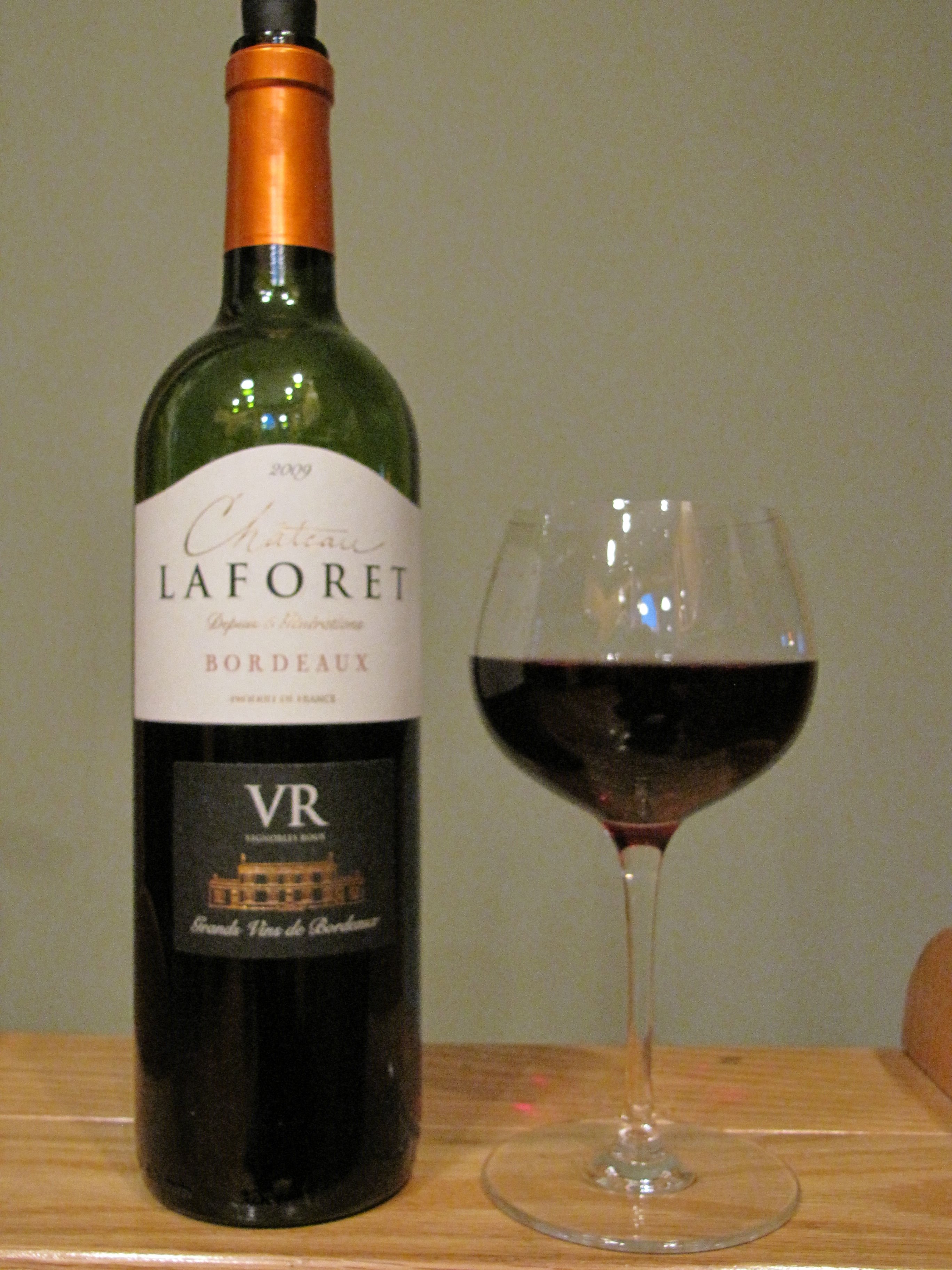 Château Laforet Bordeaux Supérieur (2009)