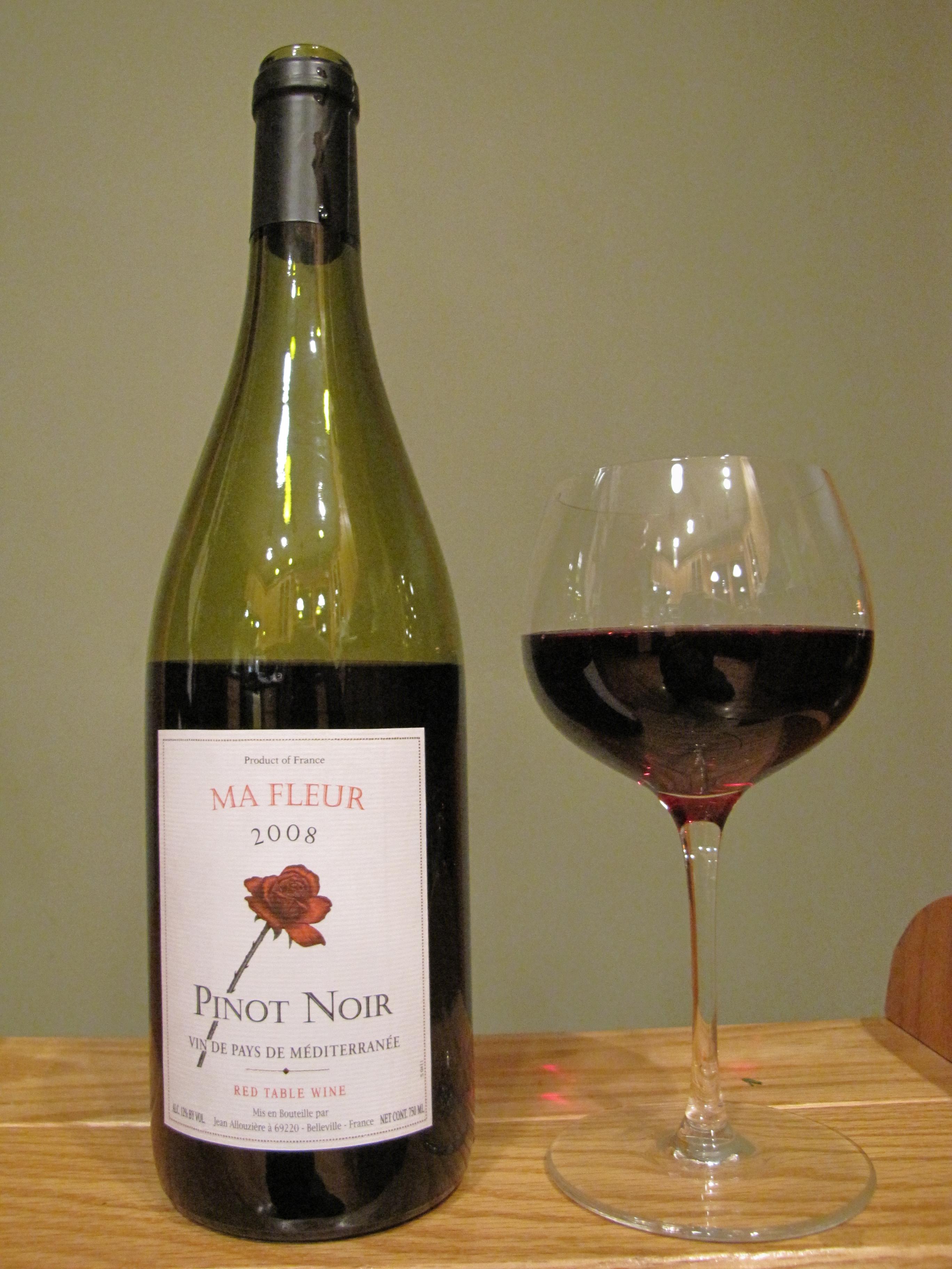 Ma Fleur Pinot Noir (2008)
