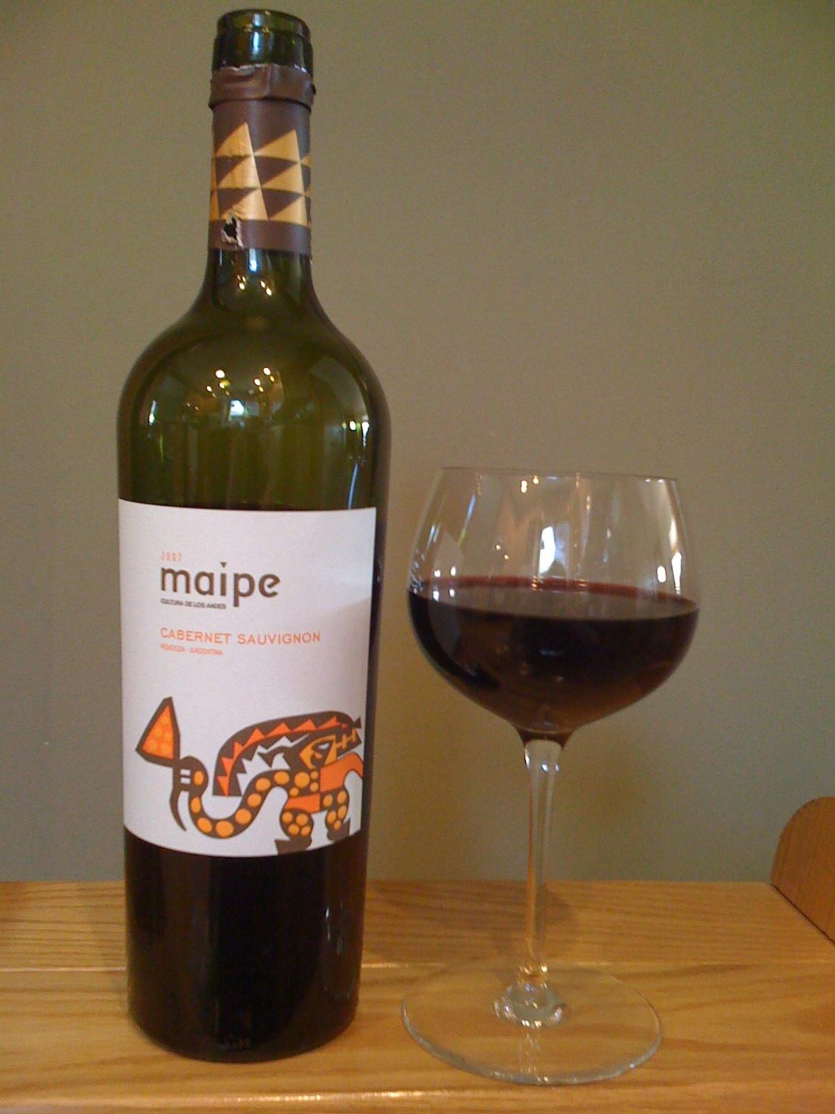Maipe Cabernet Sauvignon (2007)