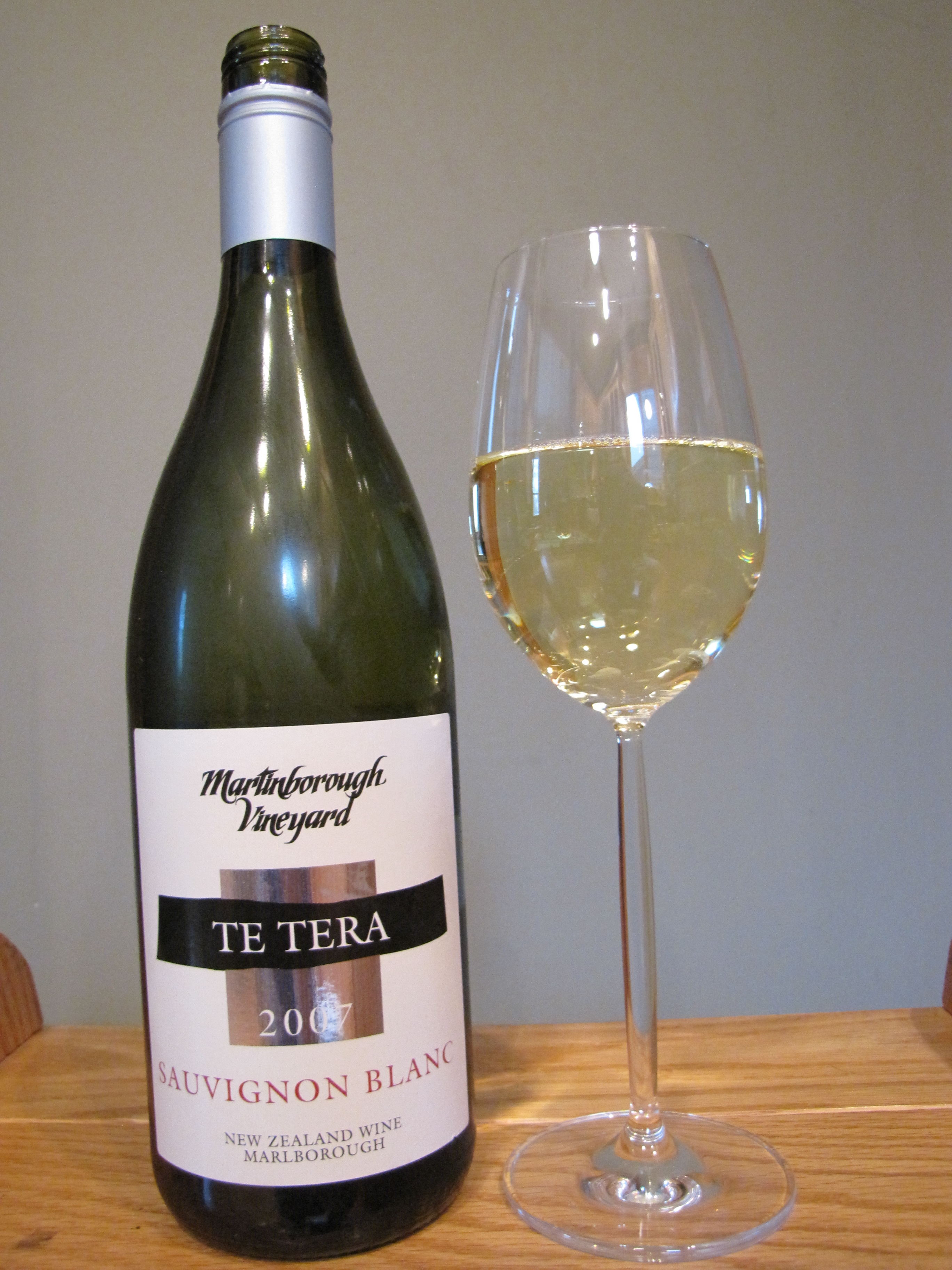 Martinborough Vineyard Sauvignon Blanc Te Tera (2007)