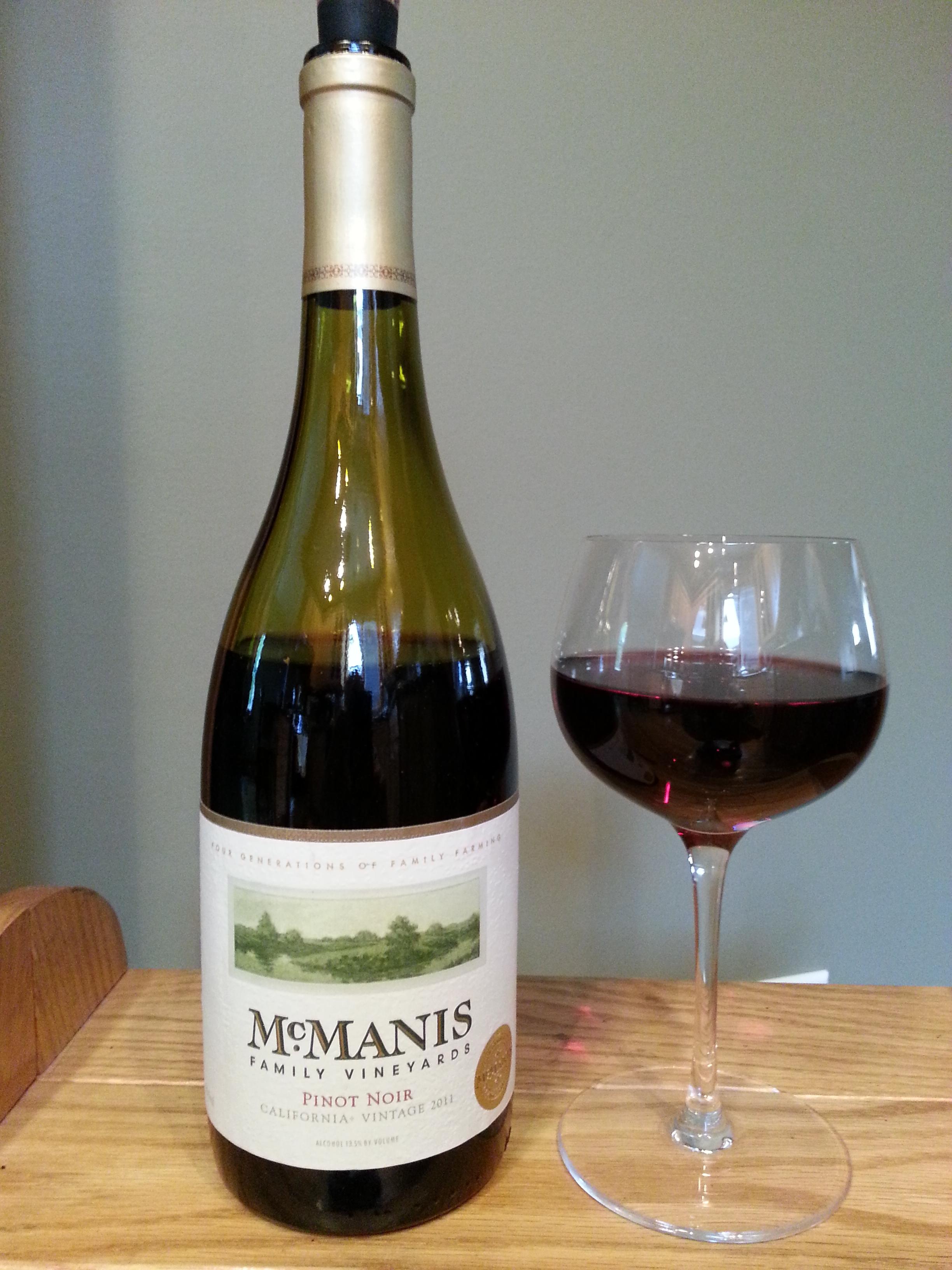 McManis Family Vineyards Pinot Noir (2011)