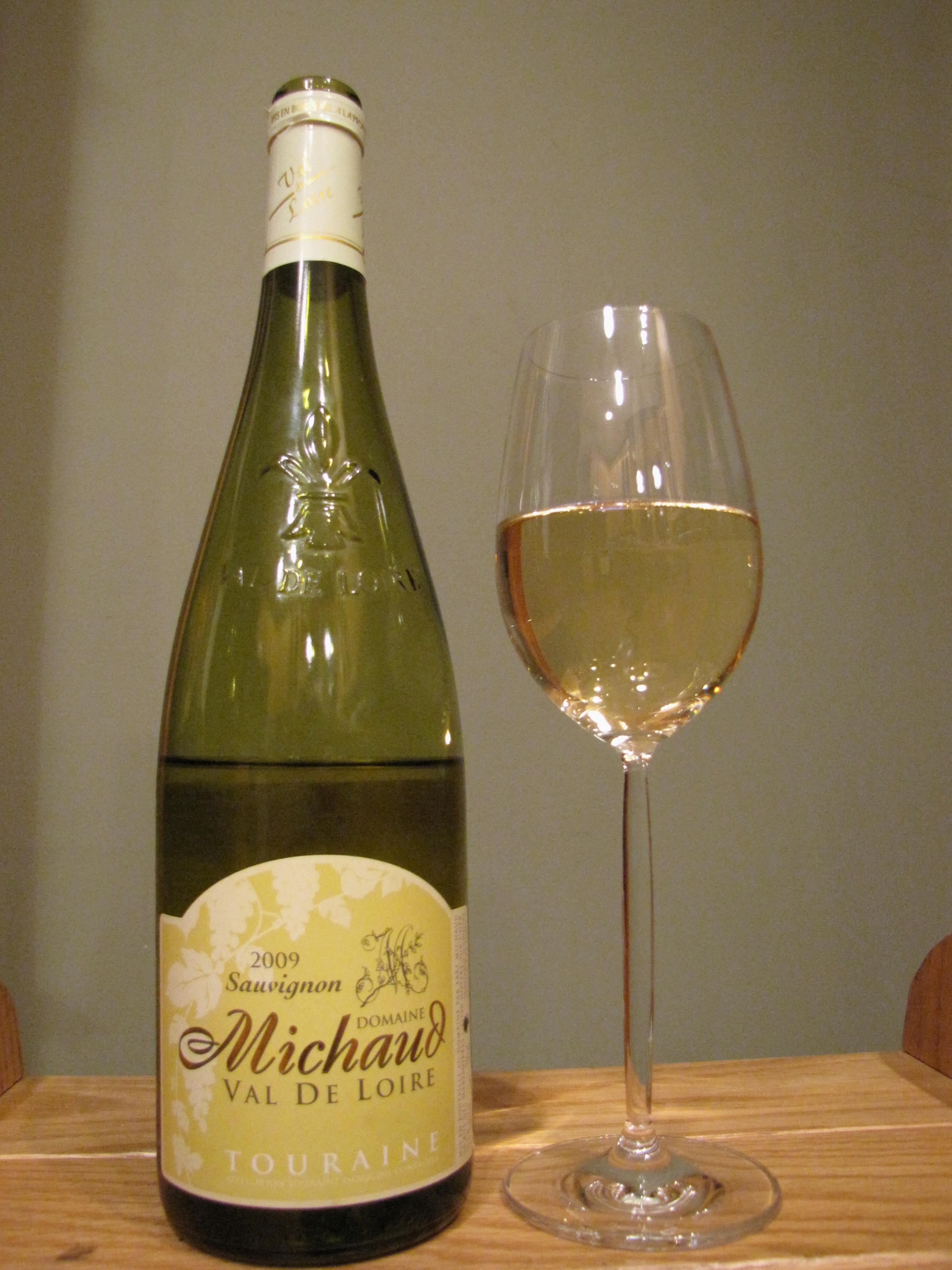 Domaine Michaud Touraine Sauvignon Blanc (2009)
