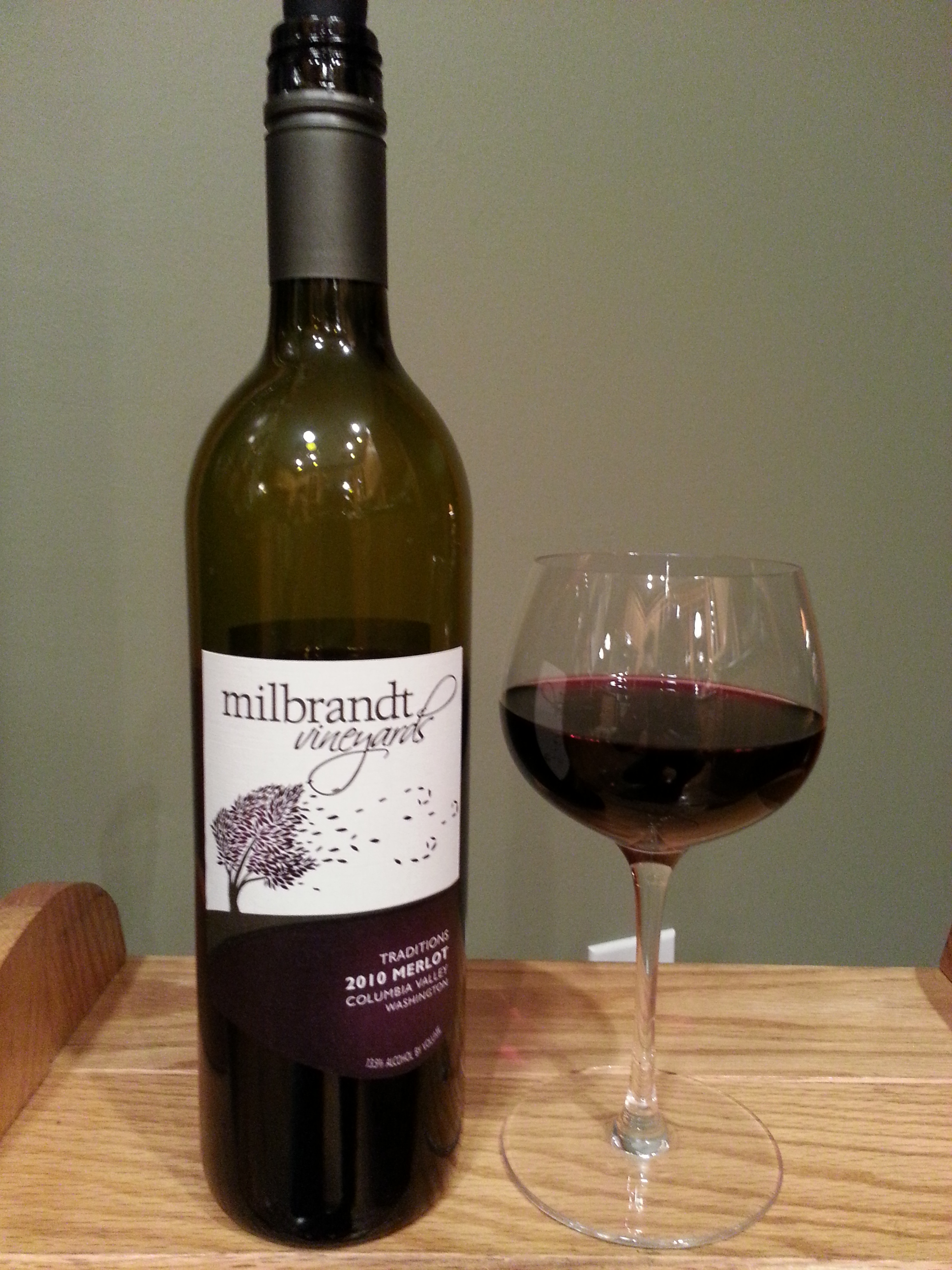 Milbrandt Vineyards Merlot Traditions (2010)