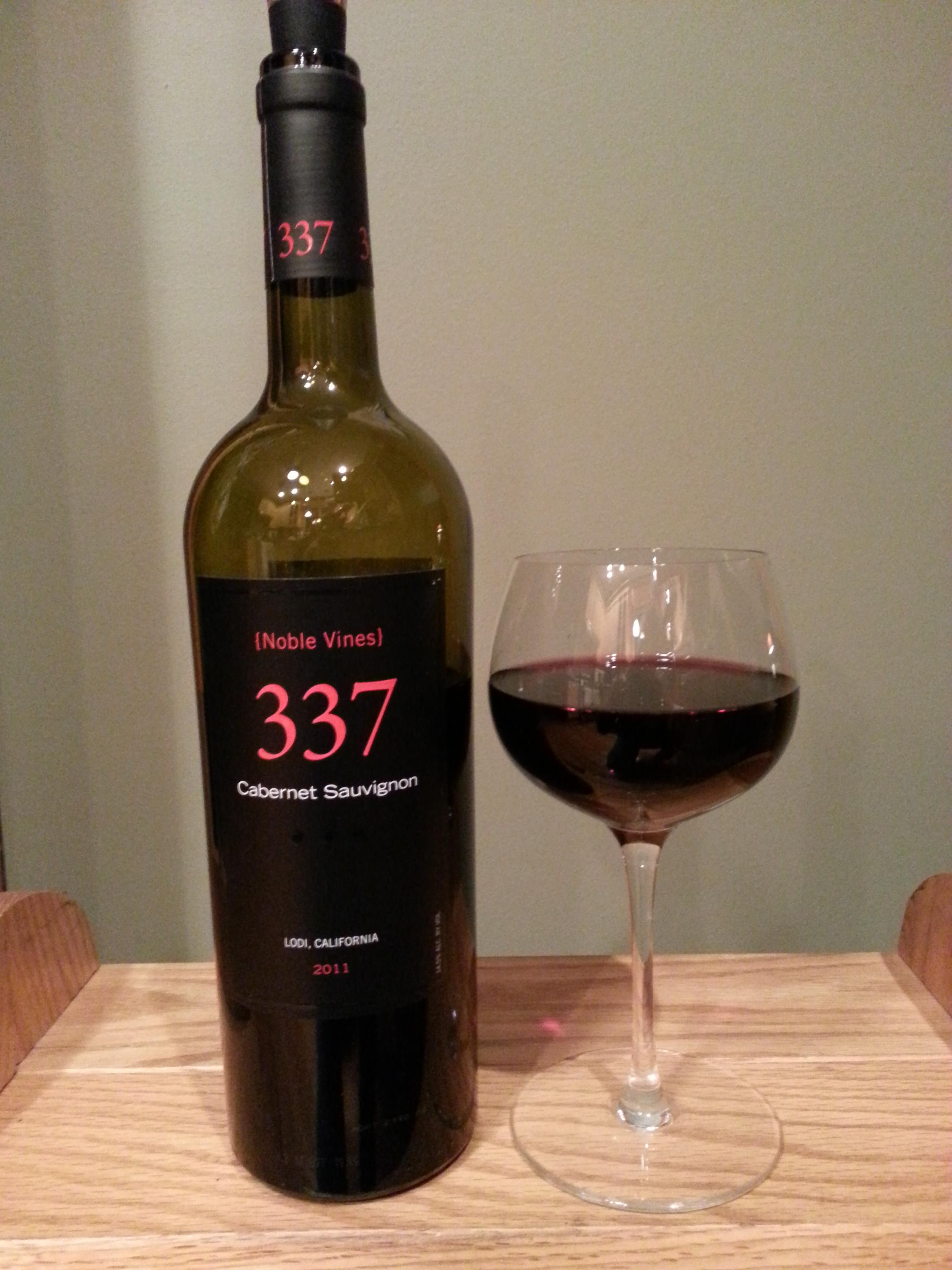 Noble Vines Cabernet Sauvignon 337 Lodi (2011)