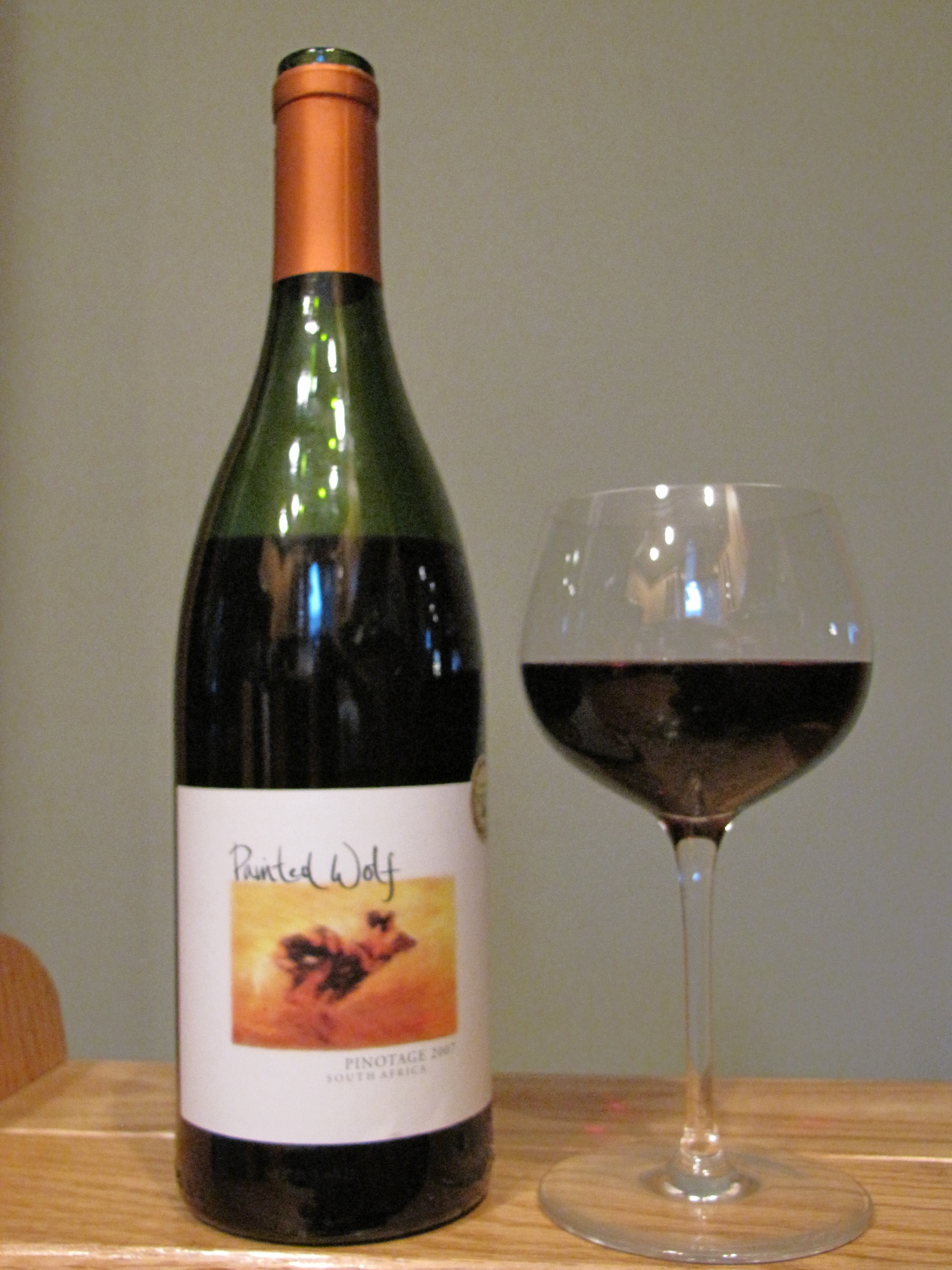 Painted Wolf Wines Pinotage (2007)