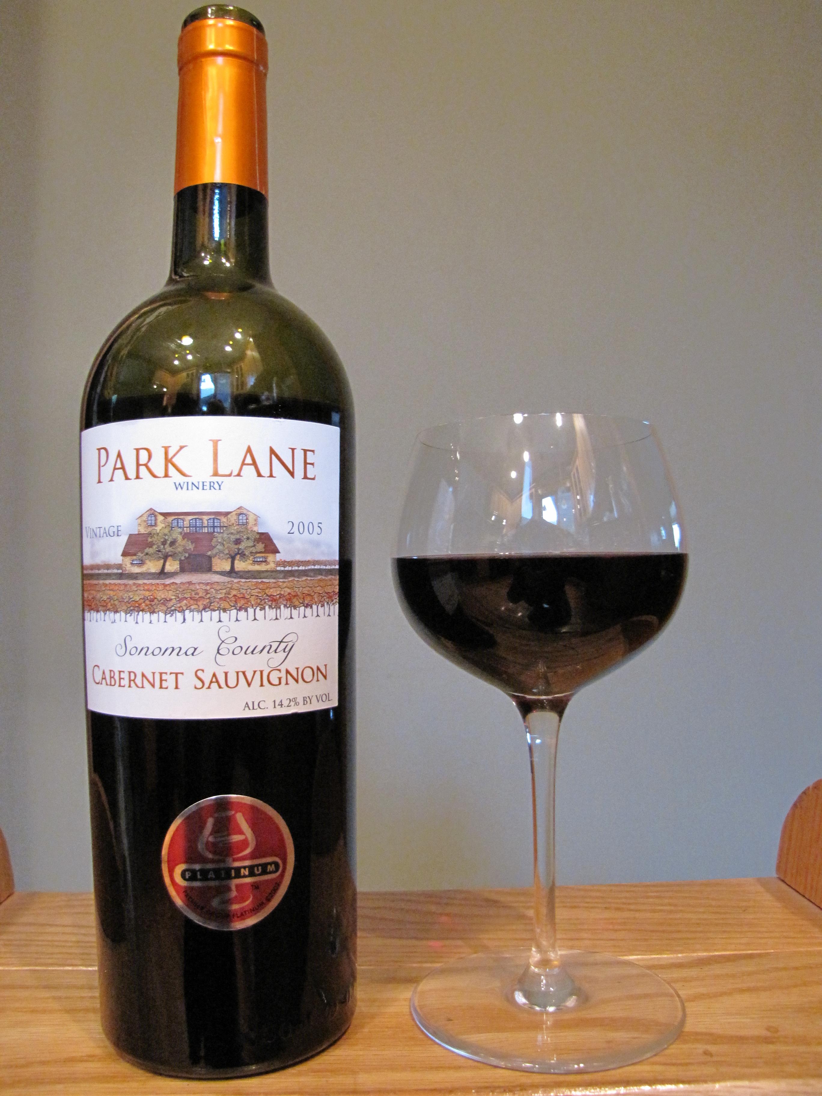 Park Lane Cabernet Sauvignon (2005)