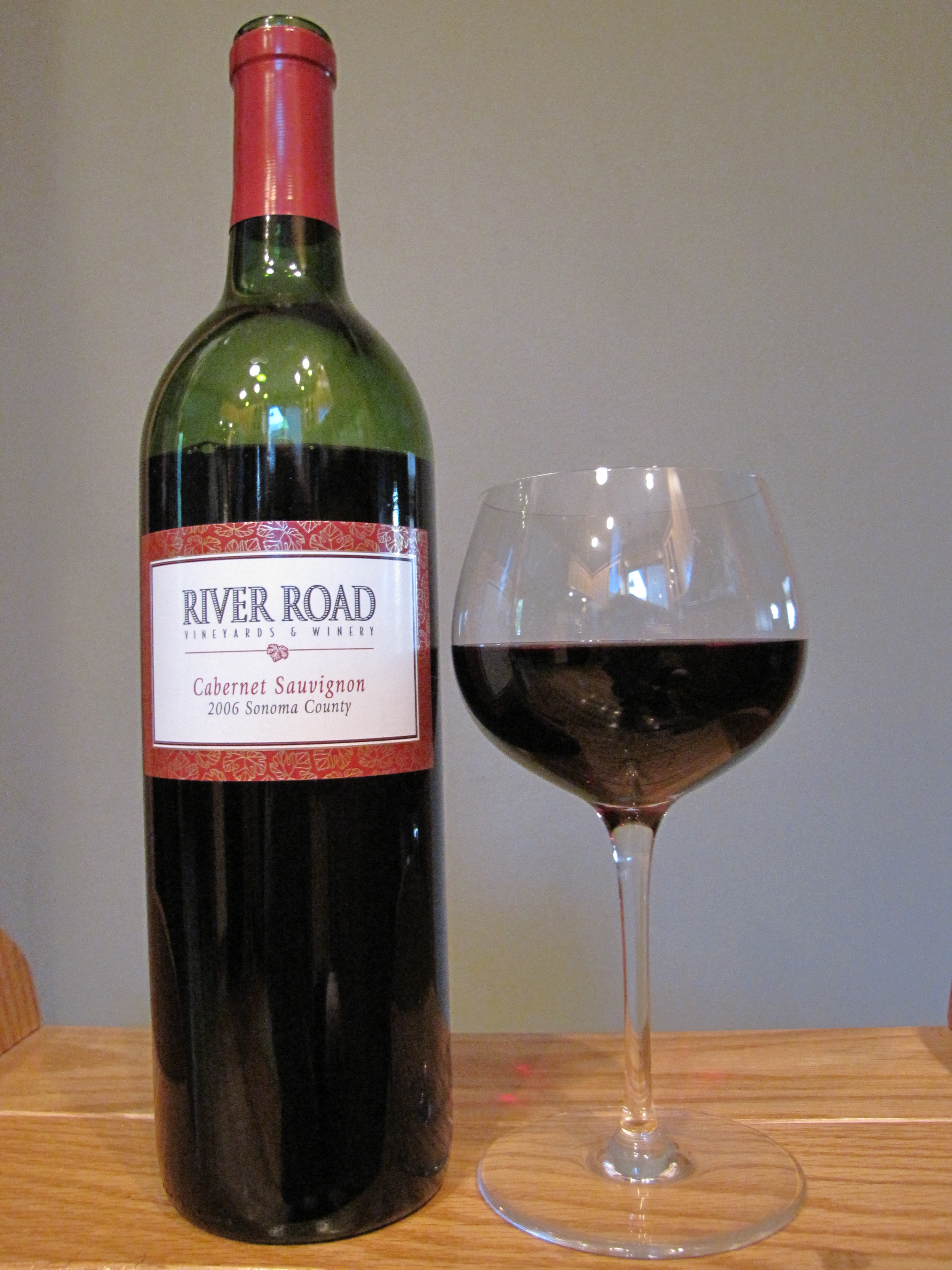 River Road Vineyards Cabernet Sauvignon (2006)