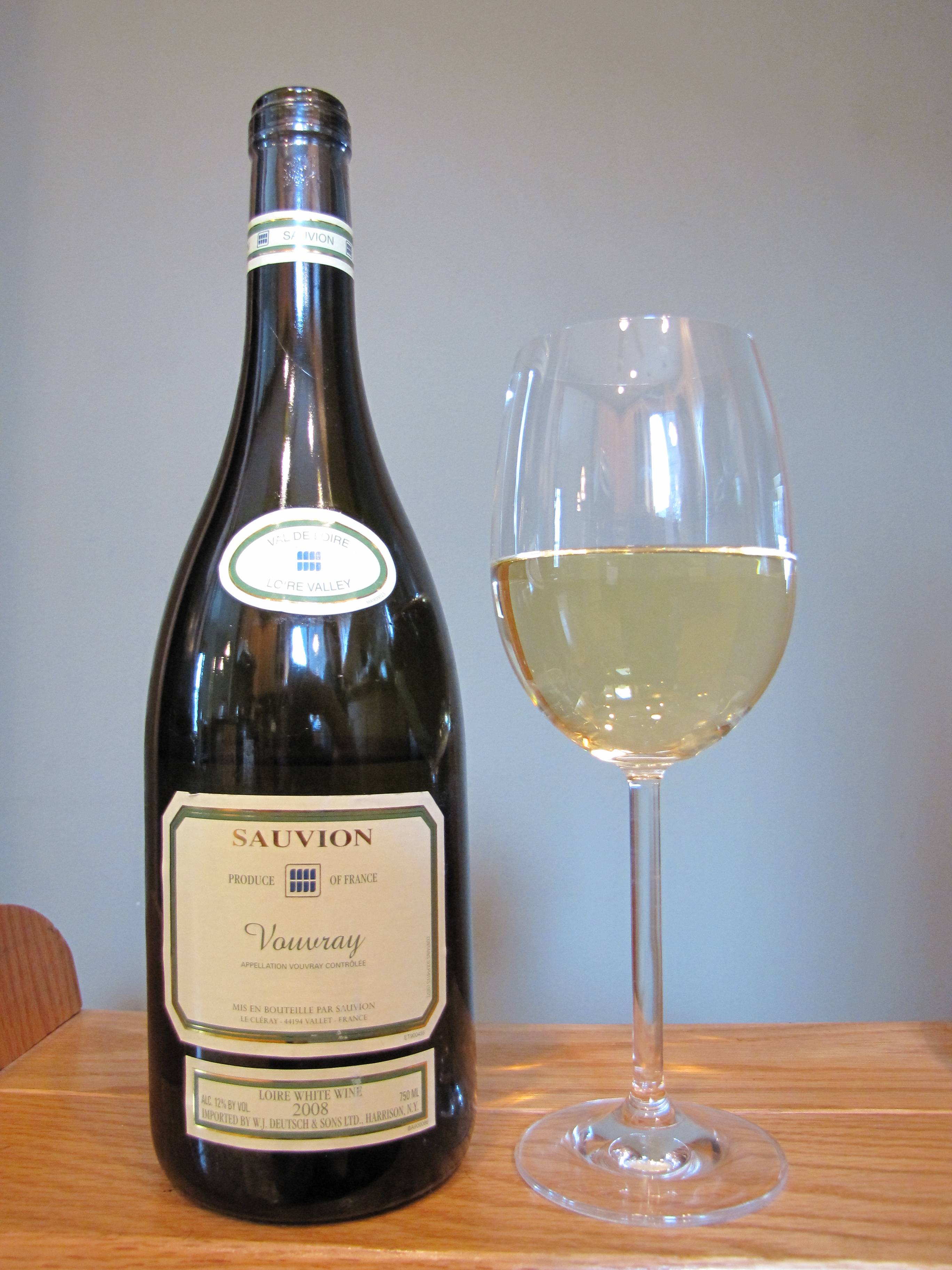 Sauvion Vouvray (2008)