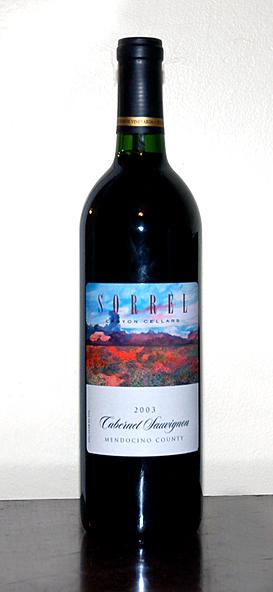 Sorrel Canyon Cabernet Sauvignon (2003)