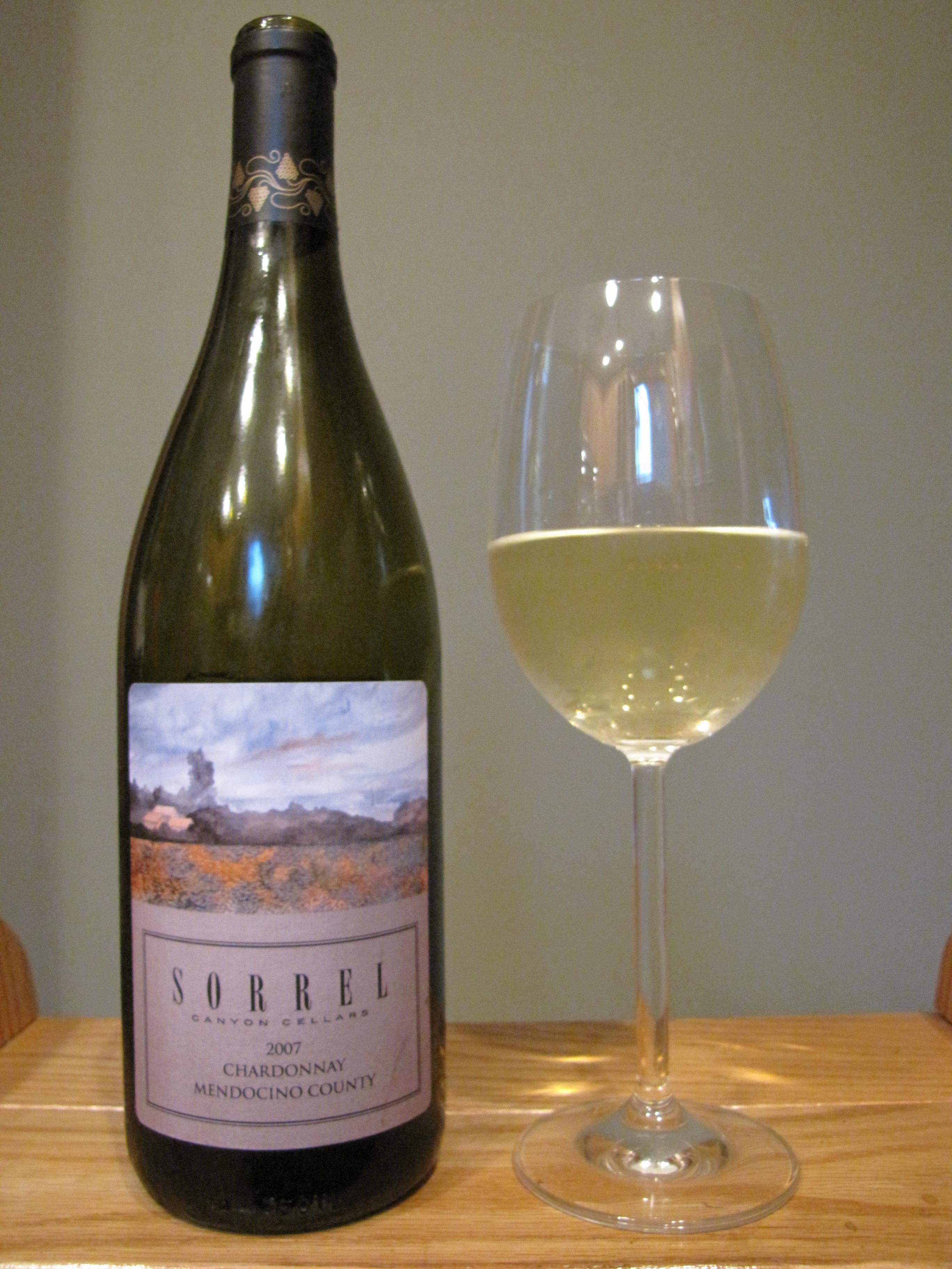 Sorrel Canyon Chardonnay (2007)