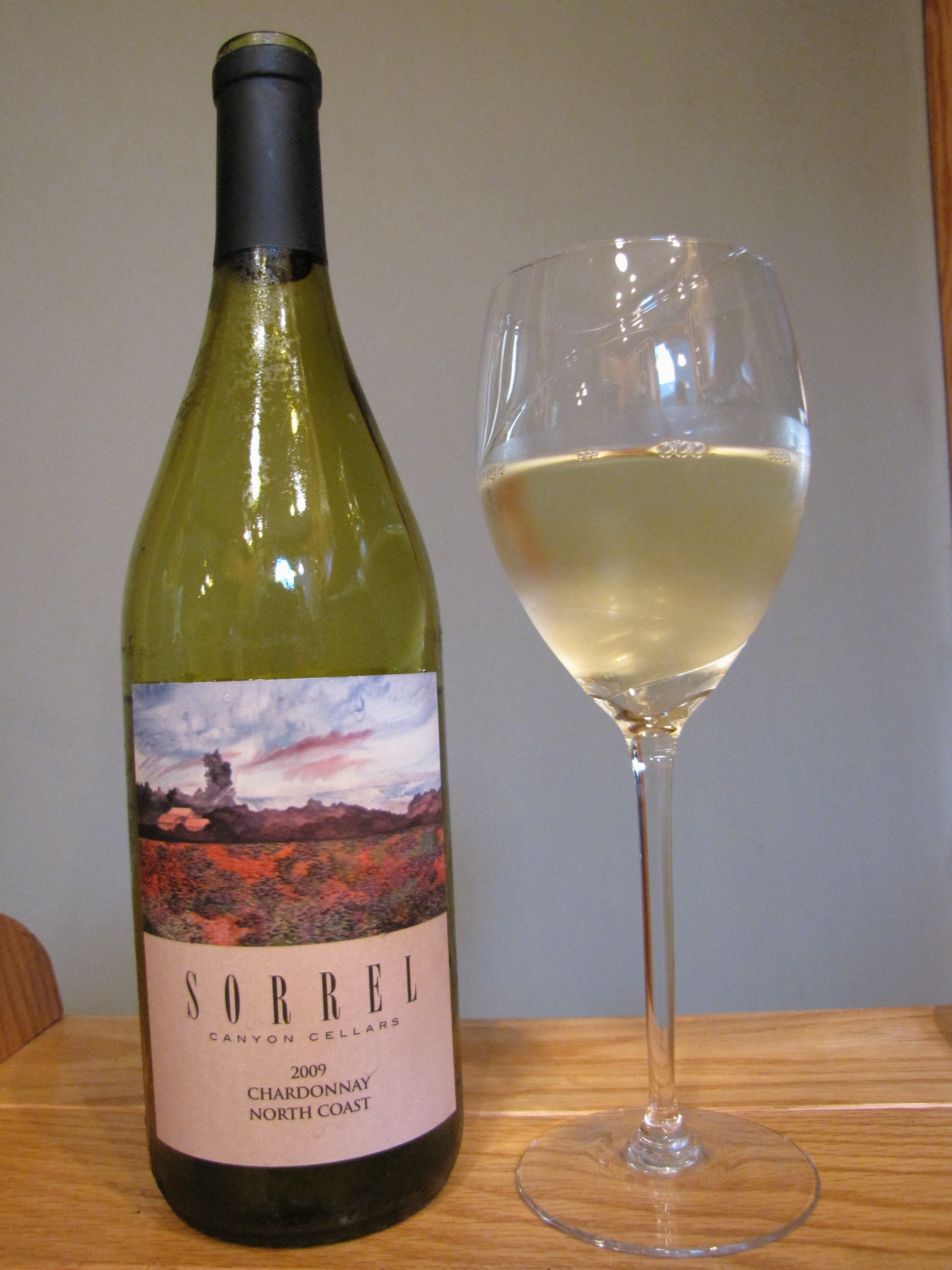 Sorrel Canyon Chardonnay (2009)