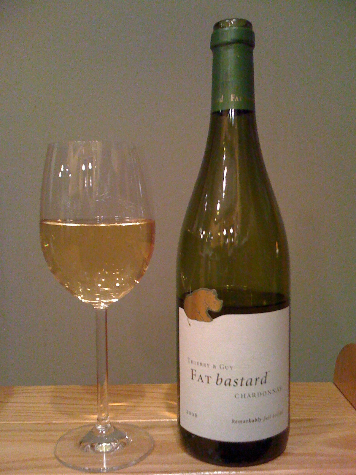 Thierry and Guy Shiraz Vin de Pays d'Oc Fat Bastard (2006)