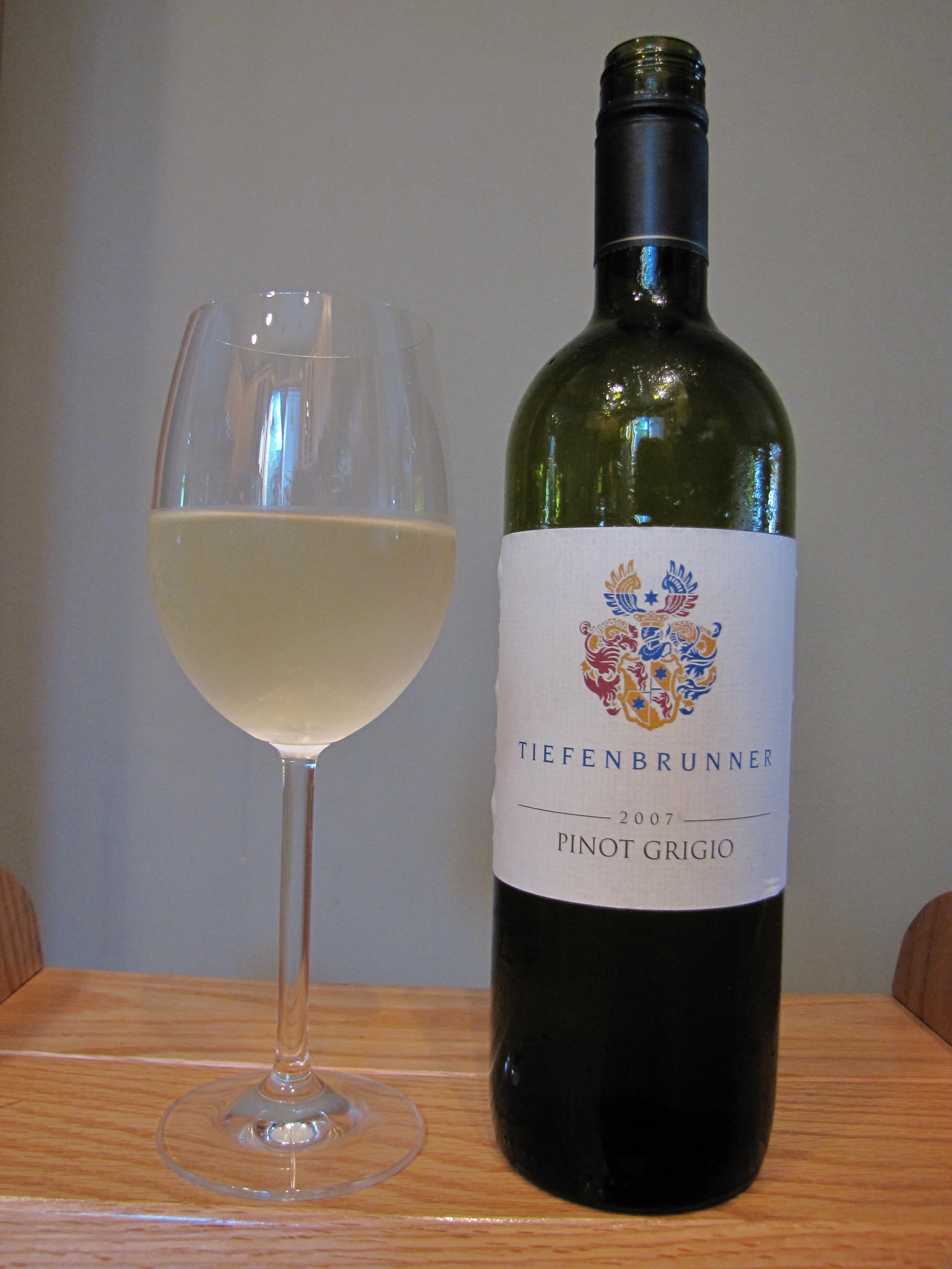 Tiefenbrunner Pinot Grigio Venezie IGT (2007)