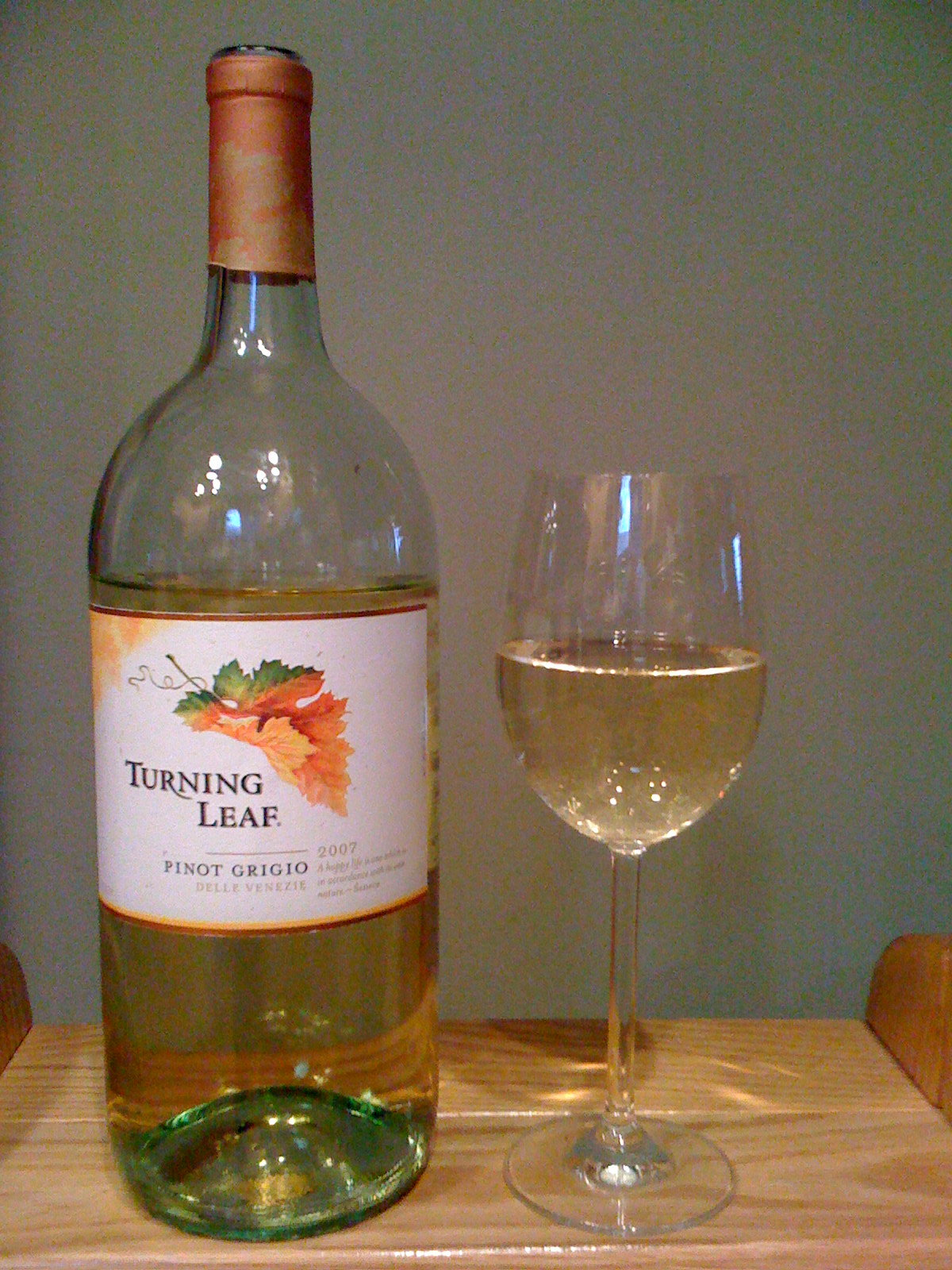 Turning Leaf Vineyards Pinot Grigio (2007)