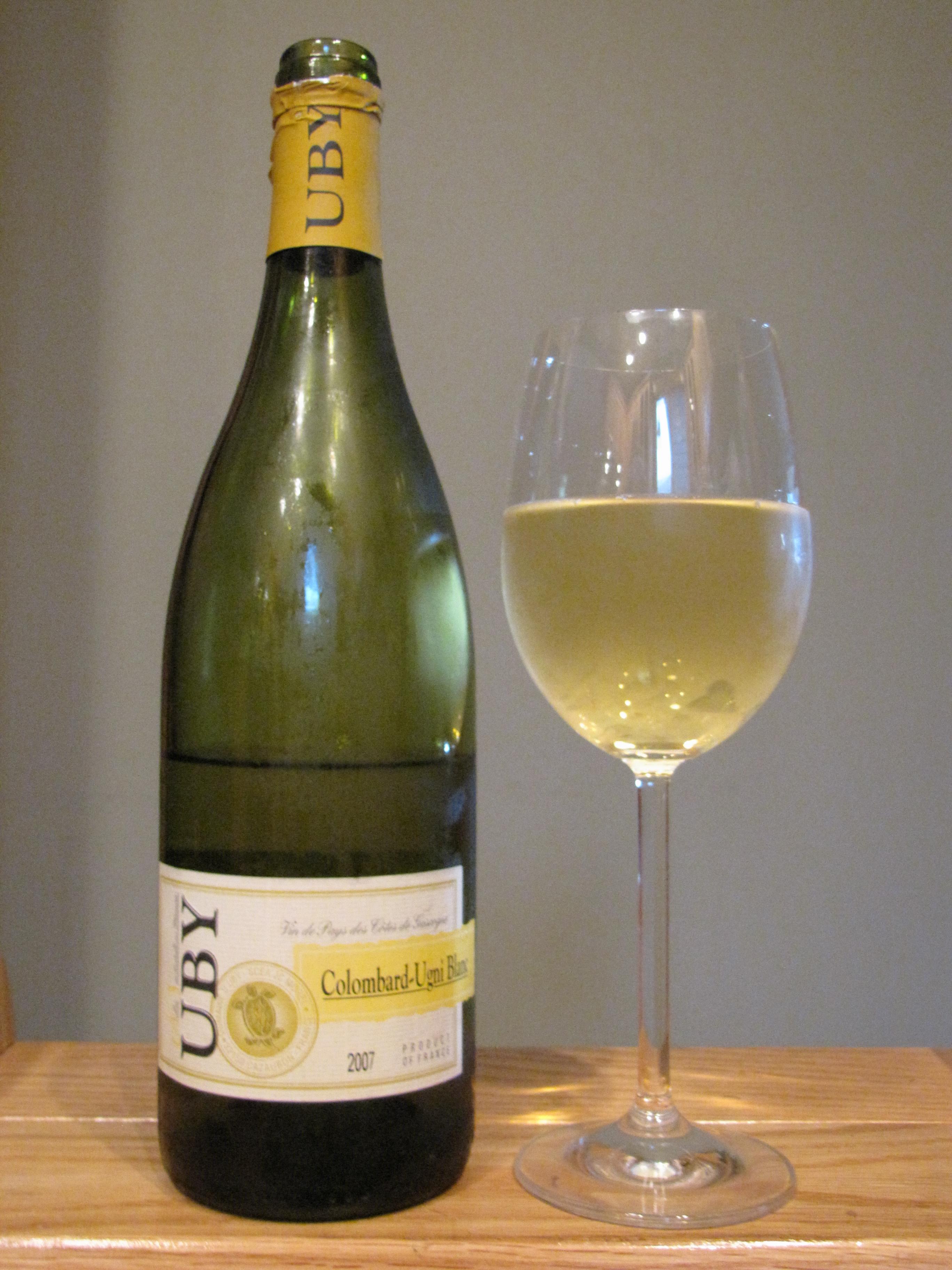 Vin de Pays des Côtes de Gascogne Colombard Ugni Blanc (2007)