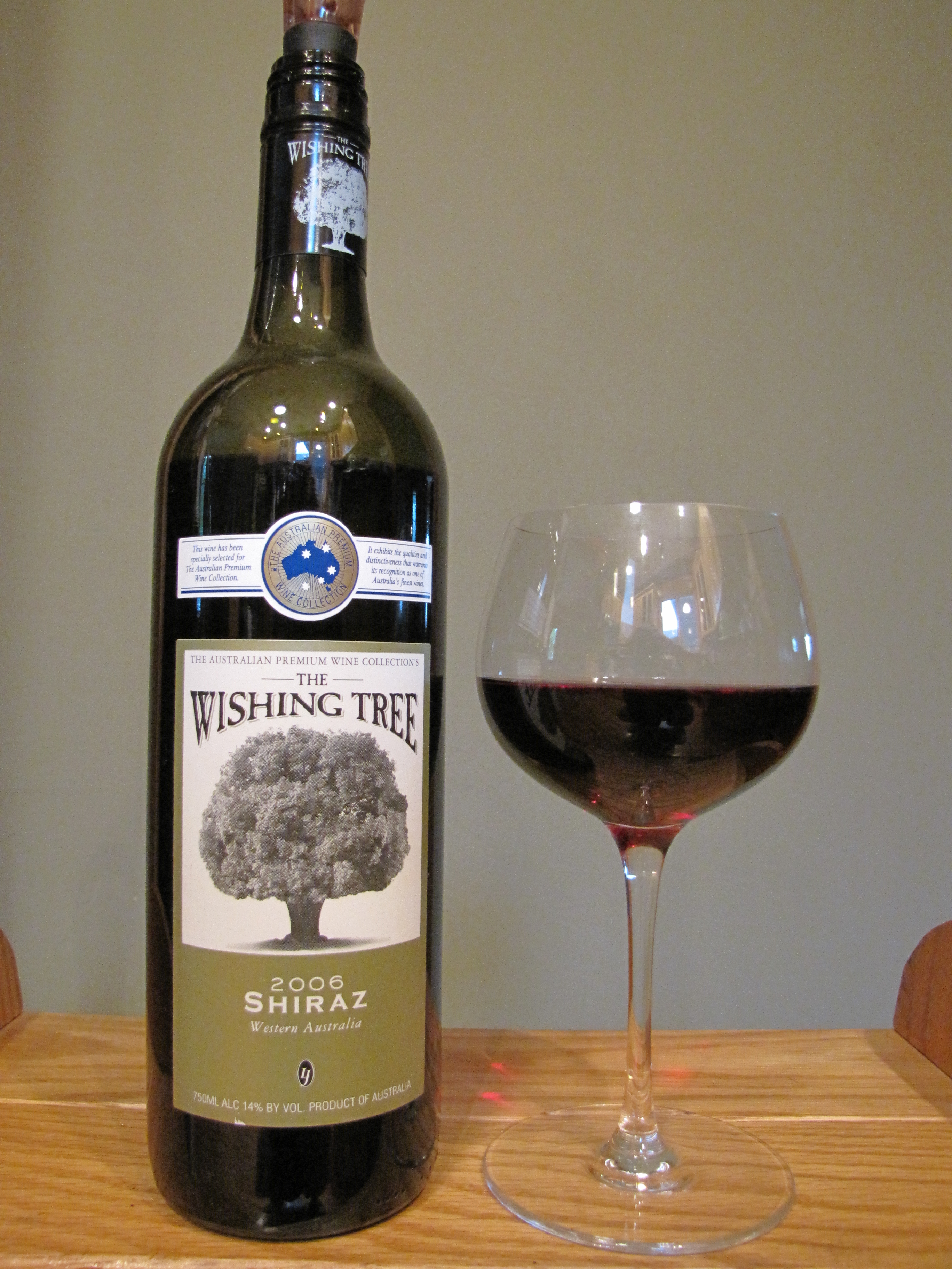 Wishing Tree Shiraz (2006)